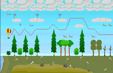 Balloon grand tree 2 path