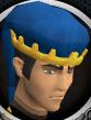 Diamond jubilee souvenir hat (blue) chathead