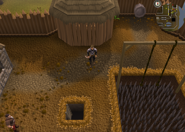 File:Emote clue Cheer Barbarian Agility course.png