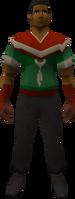 Retro merryman top