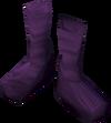 Silken boots (pink, female) detail