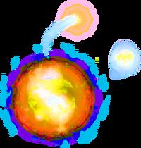 Sparkling wisp