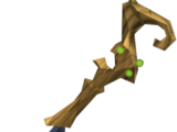 Splitbark wand