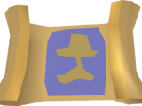 Treasure map (Buried Treasure)