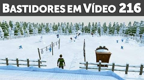 Bastidores em Vídeo - Natal no RuneScape (2016)