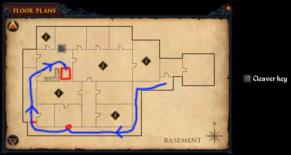 Broken Home - Noose door - basement