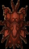 Dragon sq shield (sp) detail