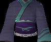 Eastern kimono (blue) detail