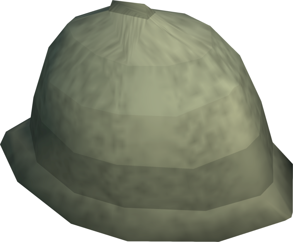 Explorer Jack's helmet detail