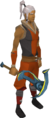 Gilded rune pickaxe equipped.png