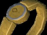 Herculean gold ring