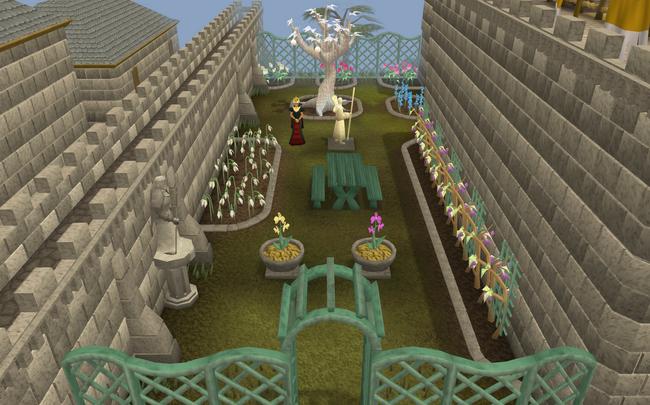 Jardim da tranquilidade terminado