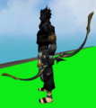 Longbow of Spades equipped.png