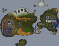 Miscellania and Etceteria dungeon entrances locations.png