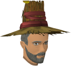 Modified farmer's hat chathead (male)