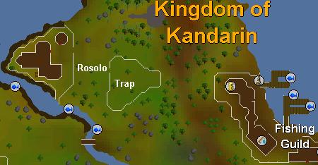 Rosolo locatie