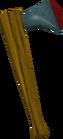 Rune hatchet detail old