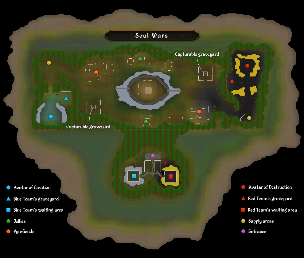 Map Soul Wars RuneScape Wiki