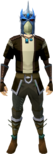 Strong slayer helmet (blue) equipped.png