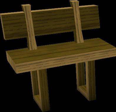 wooden bench runescape wiki fandom powered by wikia