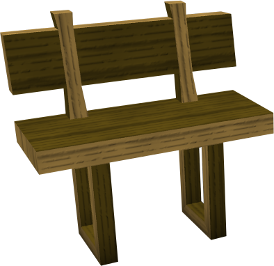 High Quality Wooden Bench Built