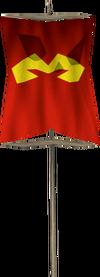 Banner (Zamorak) detail