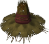 Farmer's hat detail