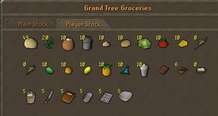 Grandtree 2 groceries