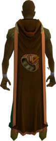 Hooded dungeoneering cape (t) equipped