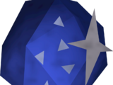 Lapis lazuli gem