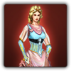 Monarch outfit icon (female)
