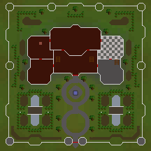 Ratcatchers Mansion map