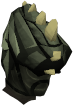 Tectonic mask (barrows) chathead