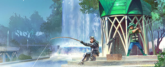 Waterfall Fishing update post header