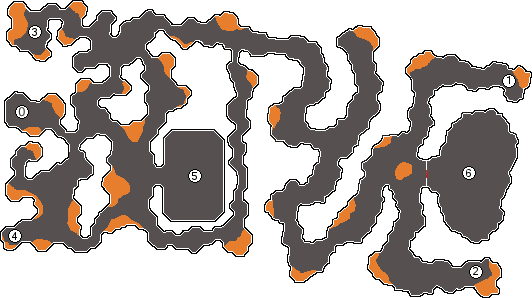 Calabouço da fumaça mapa