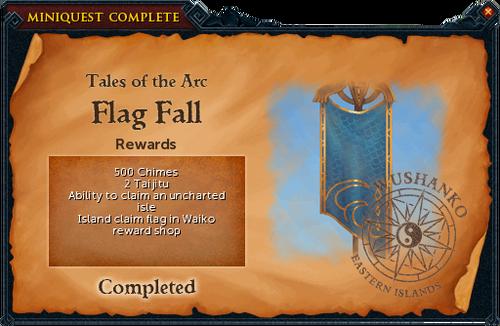 Flag Fall reward