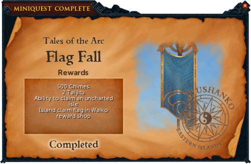 Flag Fall reward