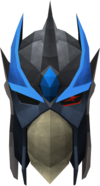 Full slayer helmet (charged) (blue) detail