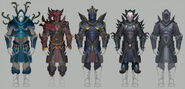 Heart of Gielinor armour concept art
