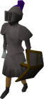 Iron plateskirt equipped old
