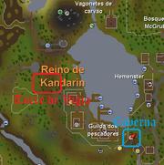 O canhão dos anões mapa 2