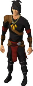 Pendant of Firemaking equipped