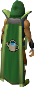 Retro farming cape (t) equipped
