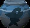 Strong fishing urn detail