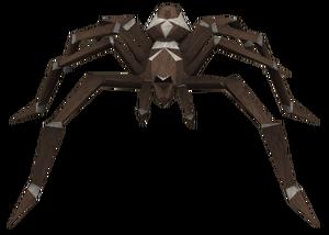 Beige spider
