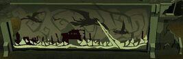 Dragonkins destruíndo uma cidade