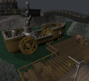 Keldagrim ship and dock