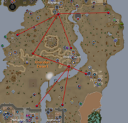 Magic carpet routes map