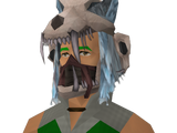 Modified shaman's headdress