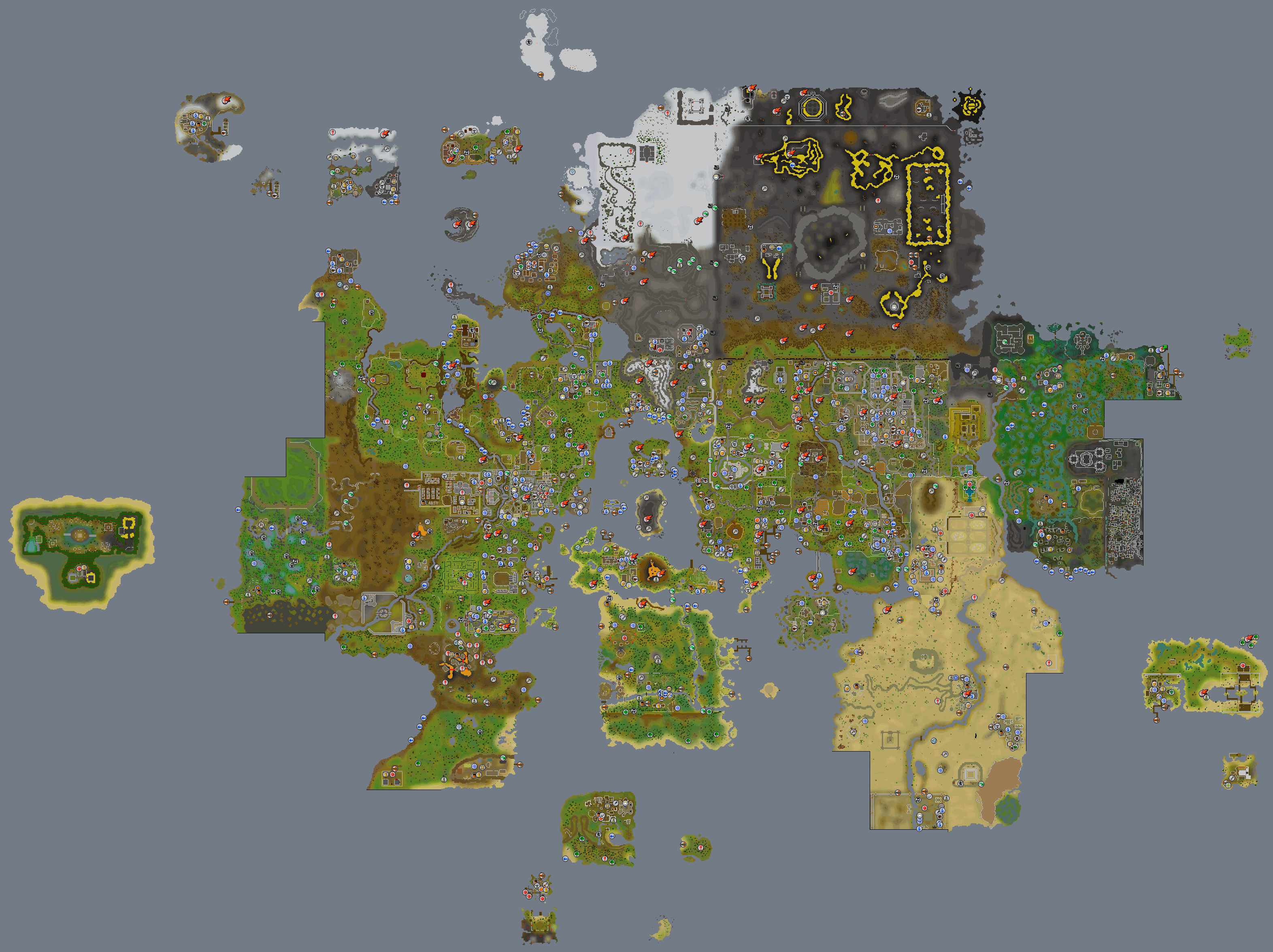 Image - RuneScape Worldmap.png | RuneScape Wiki | FANDOM powered by ...